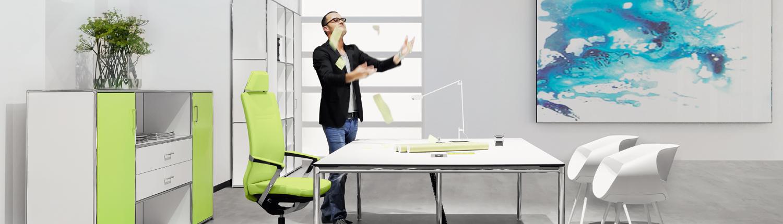 Ergonomische Büromöbel für Büro und Büroarbeitsplatz ...